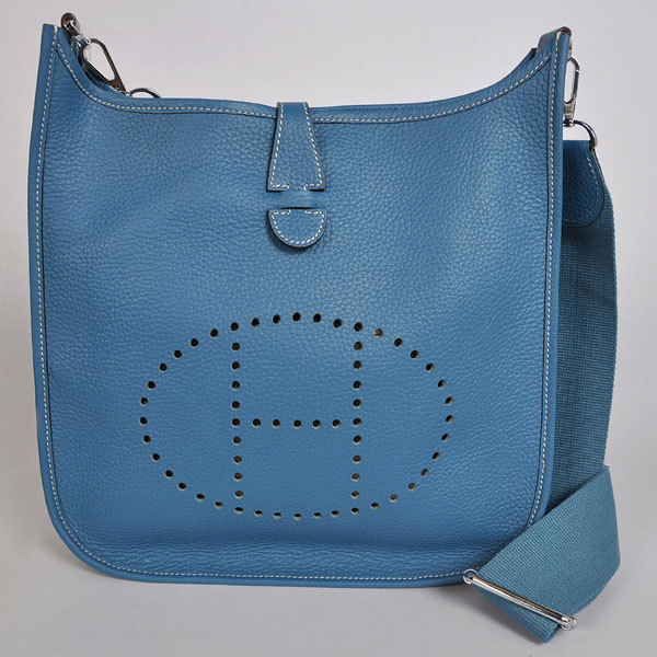 Hermes Evelyne III PM blue