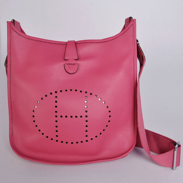 Hermes Evelyne III PM peach red
