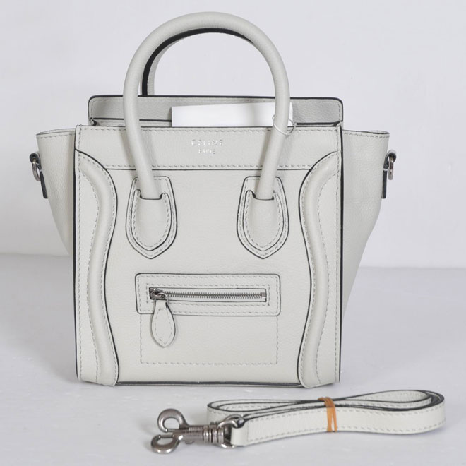 white celine bag