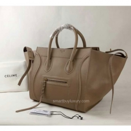 celine black leather bag - Best Quality Replica Celine Luggage Phantom Bag in Apricot ...