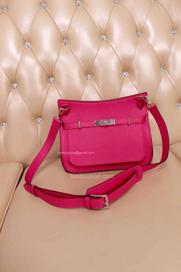 High Replica Hermes Jypsiere 28 Messenger Bag Hot Pink