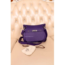 www hermes birkin bag - High Replica Hermes Jypsiere 28 Bag Purple - Replica Hermes