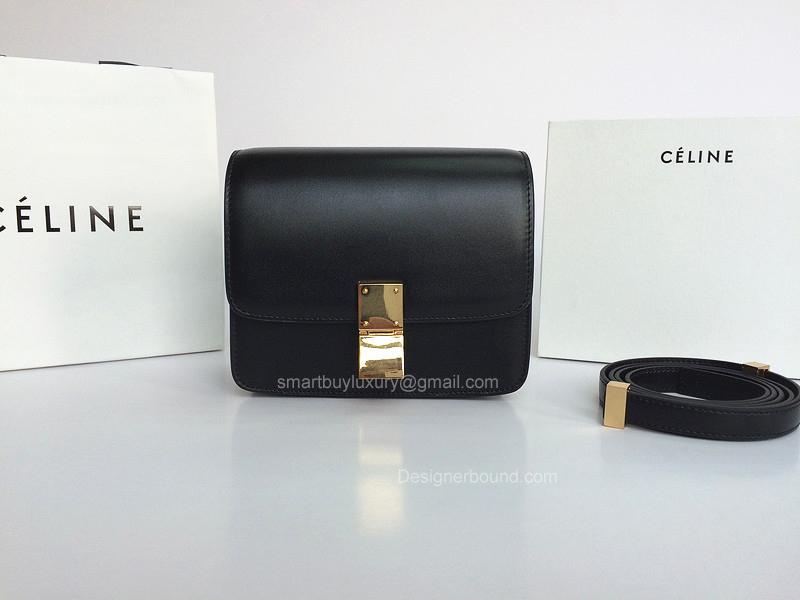 f51e7c136b3e Celine Small Box Bag Black Best Replica -