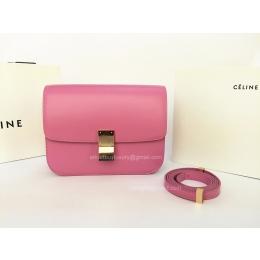 knockoff celine bags - Celine Box Flap Bag Medium Pink Best Replica -