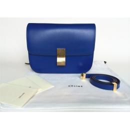 celine box electric blue