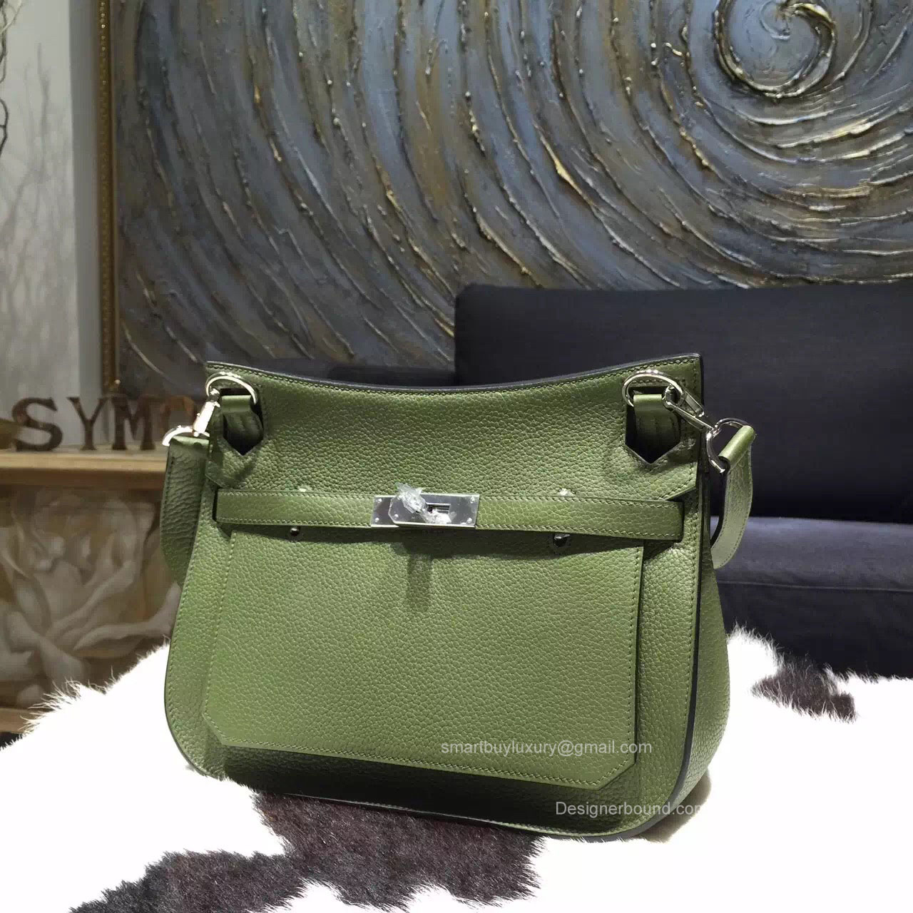 Hermes Jypsiere 28 Bag Canopee V6 Taurillon Clemence Handstitched