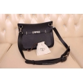 Hermes Jypsiere 28 Bag Black Taurillon Clemence Handstitched