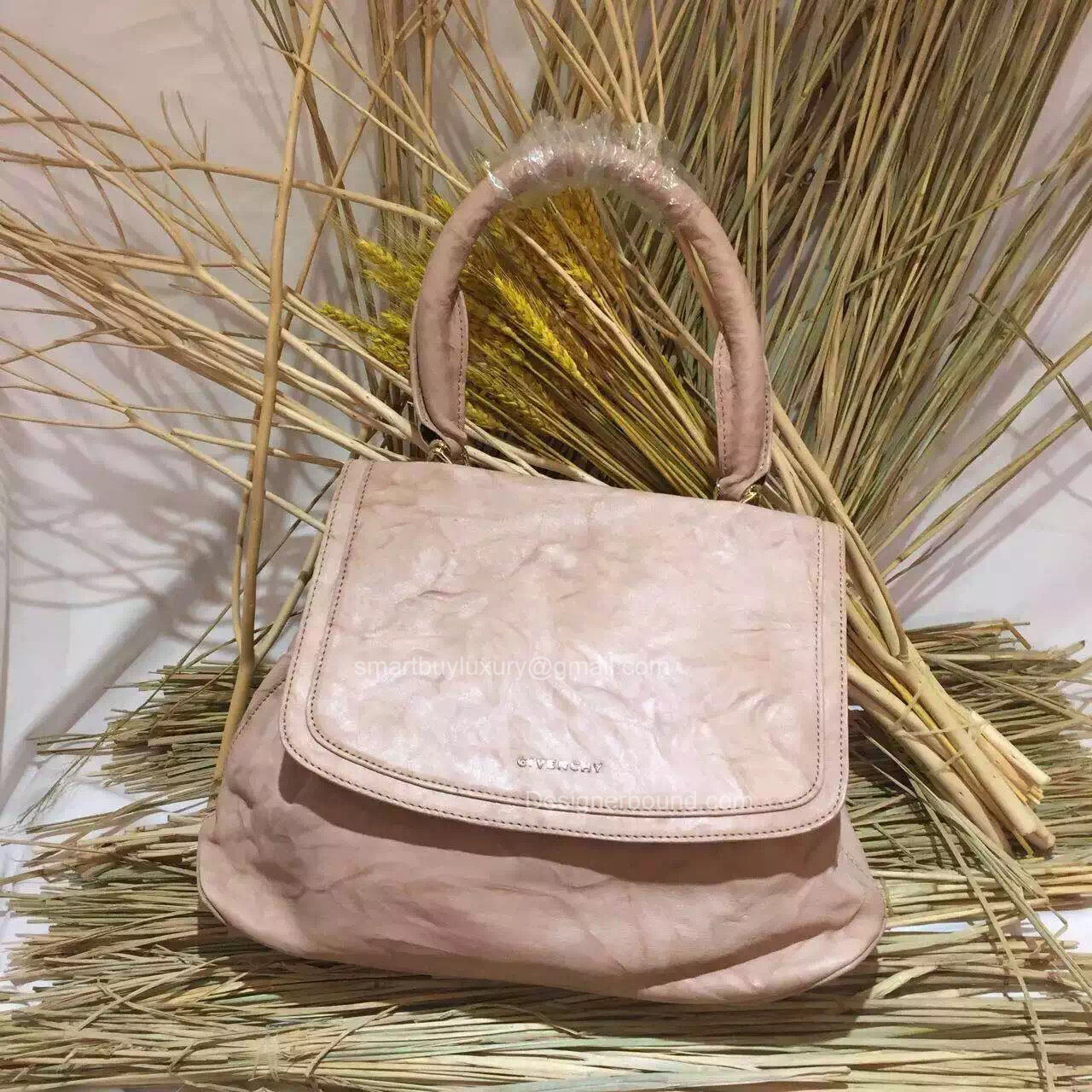 Givenchy Large Mirte Saddle Bag Beige 285176