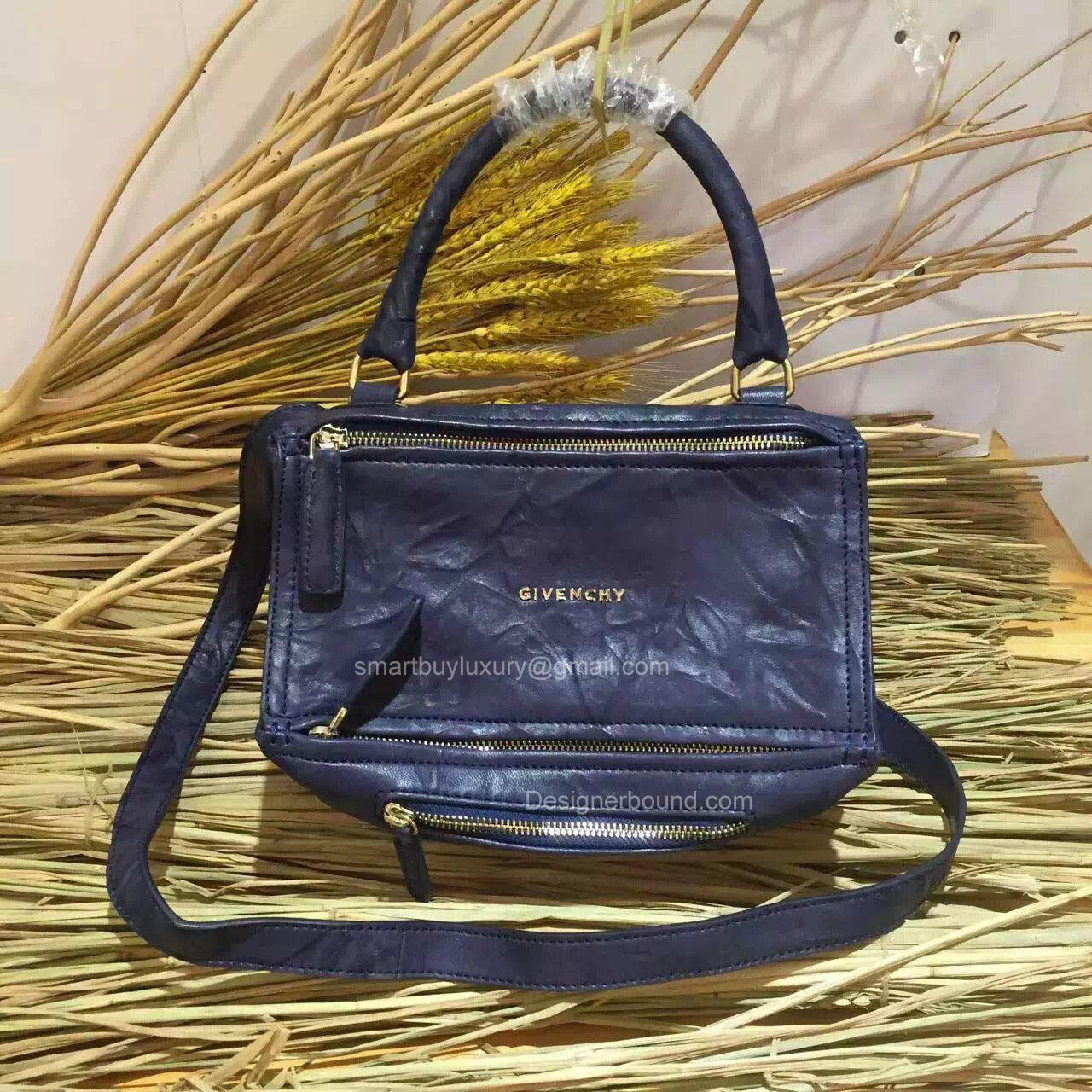 6910b698a291 Givenchy Pepe Pandora Mini Messenger Bag Blue 2851721 -
