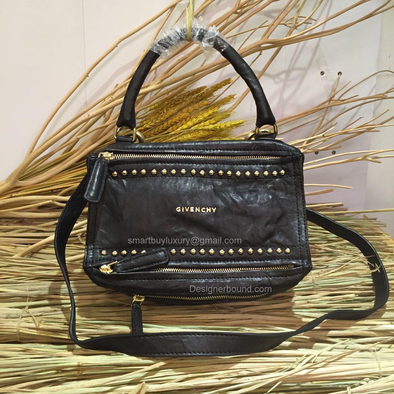 1351a658dac5 Givenchy Pepe Pandora Mini Messenger Studed Bag Black 2851721 -