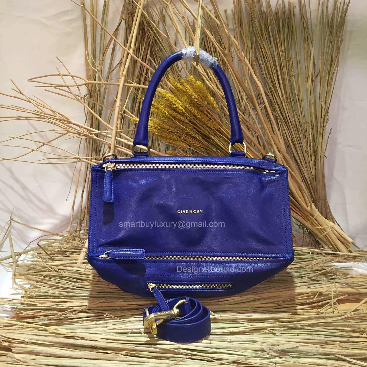 46a757681ef2 Givenchy Pandora Medium Messenger Bag Blue 2851641 -