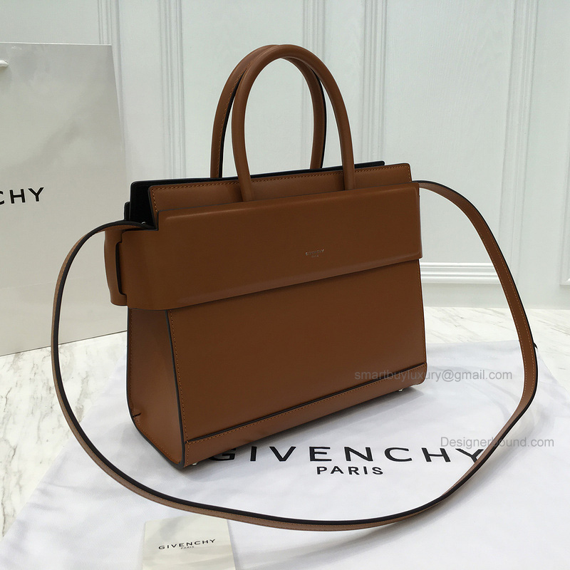 Replica Givenchy Horizon Small Bag in Caramel Smooth Calfskin