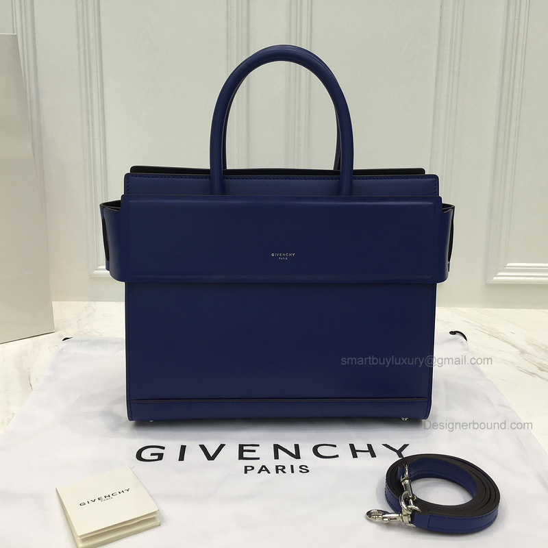Replica Givenchy Horizon Small Bag in Electric Blue Smooth Calfskin