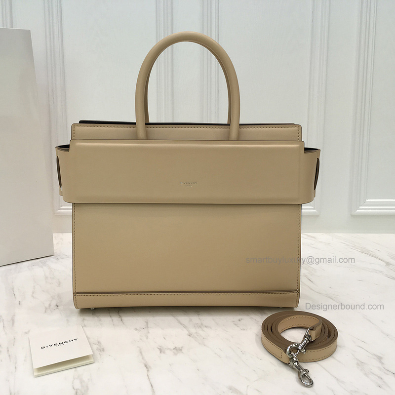 Replica Givenchy Horizon Small Bag in Tan Smooth Calfskin