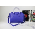 Givenchy Antigona Medium Bag in Blue Smooth Calfskin