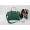 Givenchy Antigona Medium Bag in Green Smooth Calfskin
