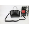 Givenchy Antigona Small handbag in Black Lambskin