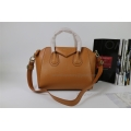 Givenchy Antigona Medium Bag in Brown Lambskin