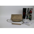 Givenchy Pepe Pandora Small Shoulder Bag in Beige Lambskin