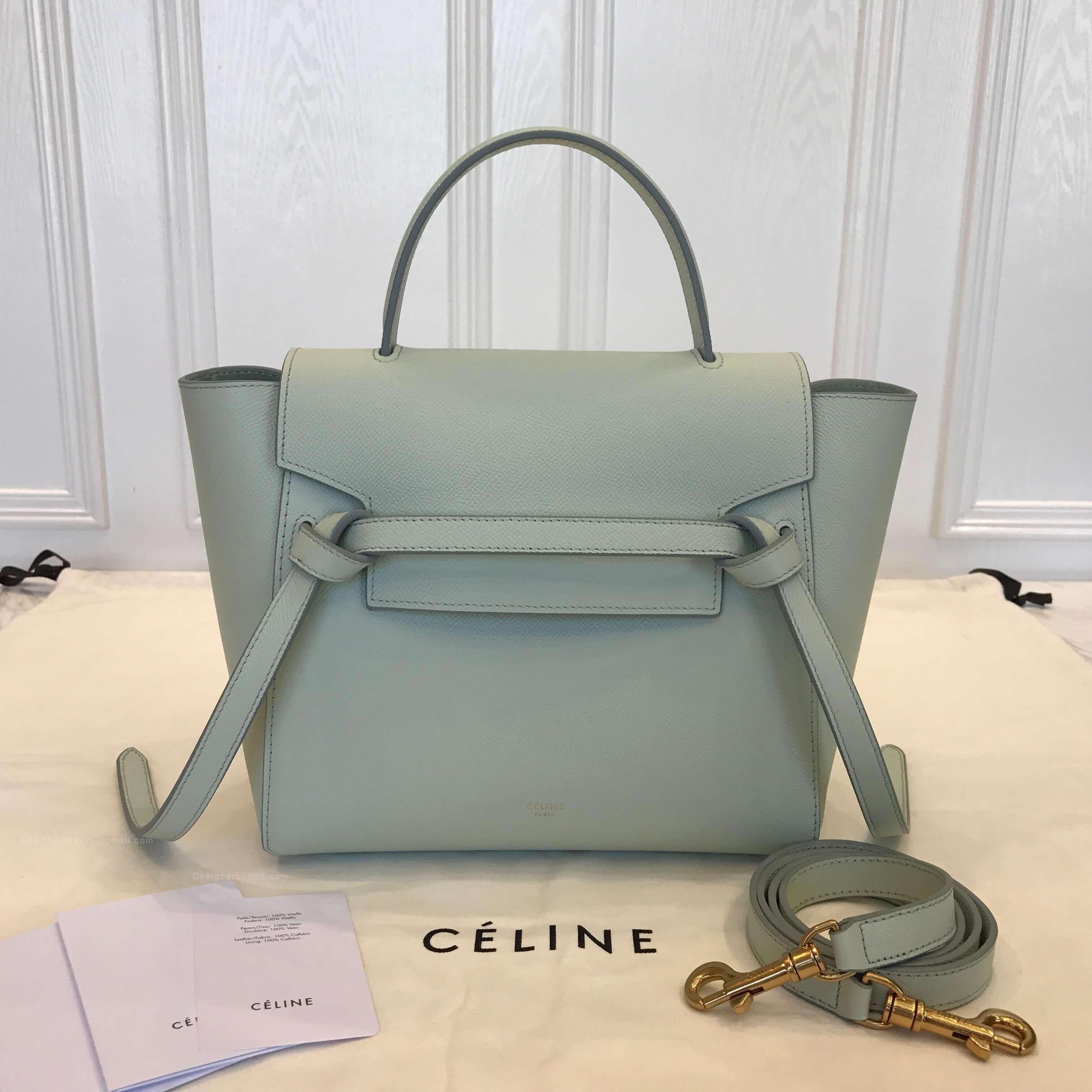 be4d4f9e7b Celine Micro Belt Bags - Identical Celine Replica - Designerbound.com