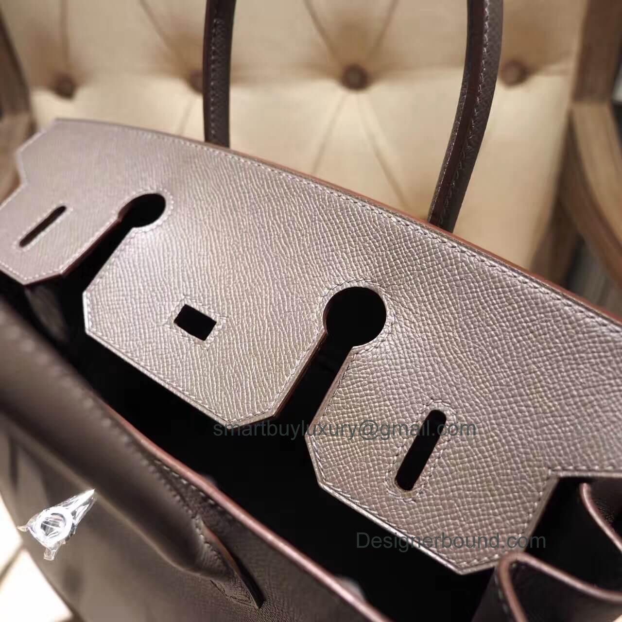8ff0bbffb916 Hermes Birkin 30 Handbag in 8f Etain Epsom GHW - Hermes Replica