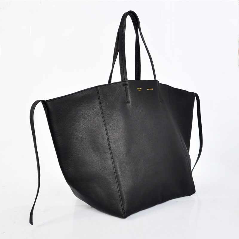 buy celine phantom bag - Celine Cabas Phantom In Calfskin Black 22106 - Replica Handbags ...