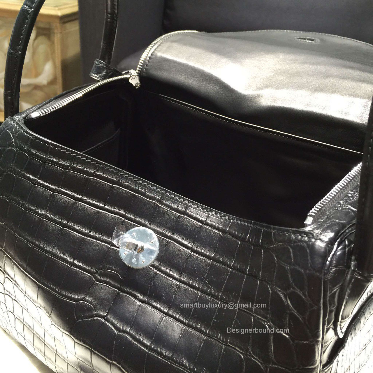 34636 b1999  coupon code for hermes lindy 30 bag black crocodile leather  handstitched ea090 5cdee 0e2c20d046ead