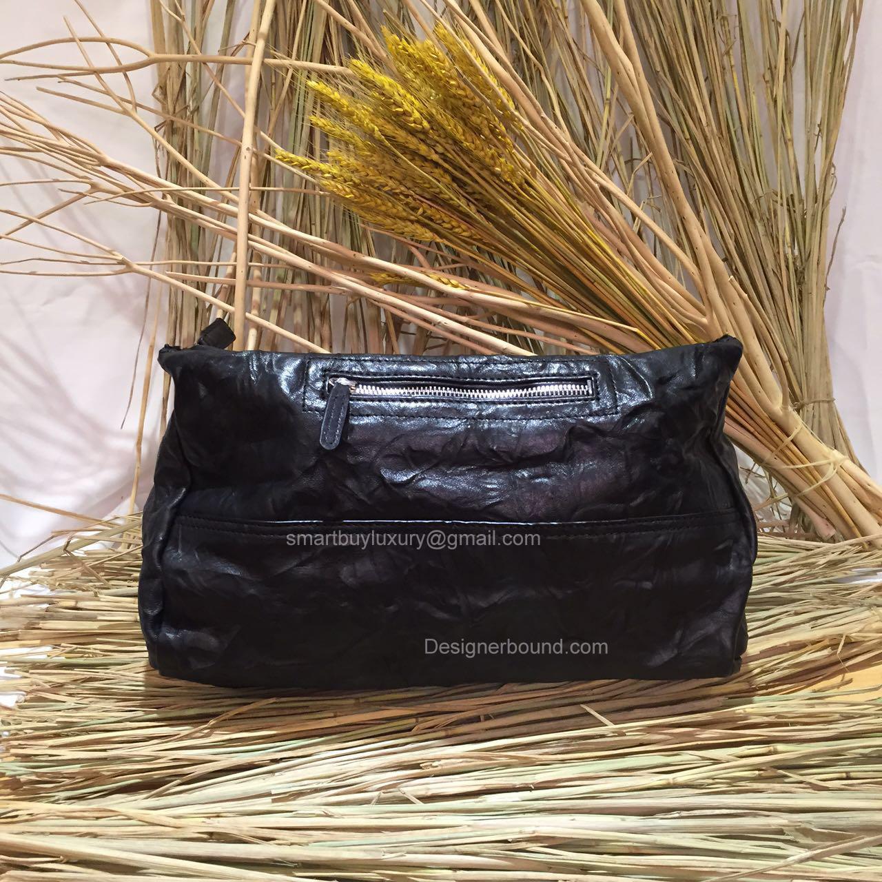 e3d60ca3e6e0 Givenchy Large Pandora Black Bag with Pony Hair 285165 -