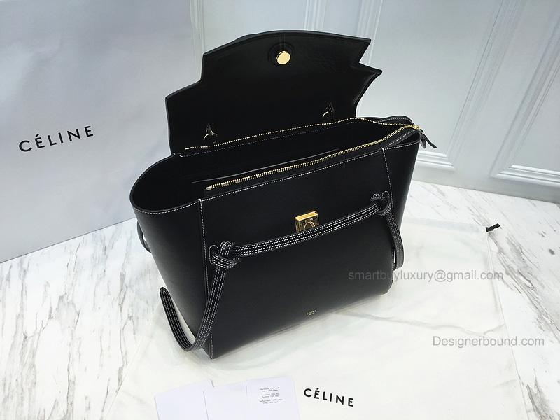 70bee1dffe Celine Belt Bag Black And White. celine black belt bag
