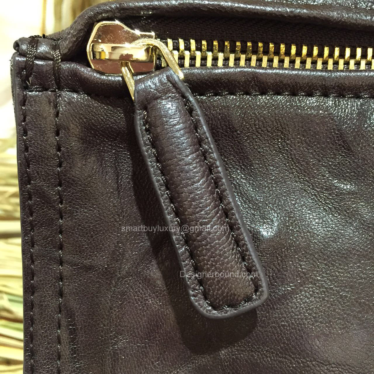 255791563f73 Givenchy Pepe Pandora Medium Messenger Bag Deep Coffee 2851641 -