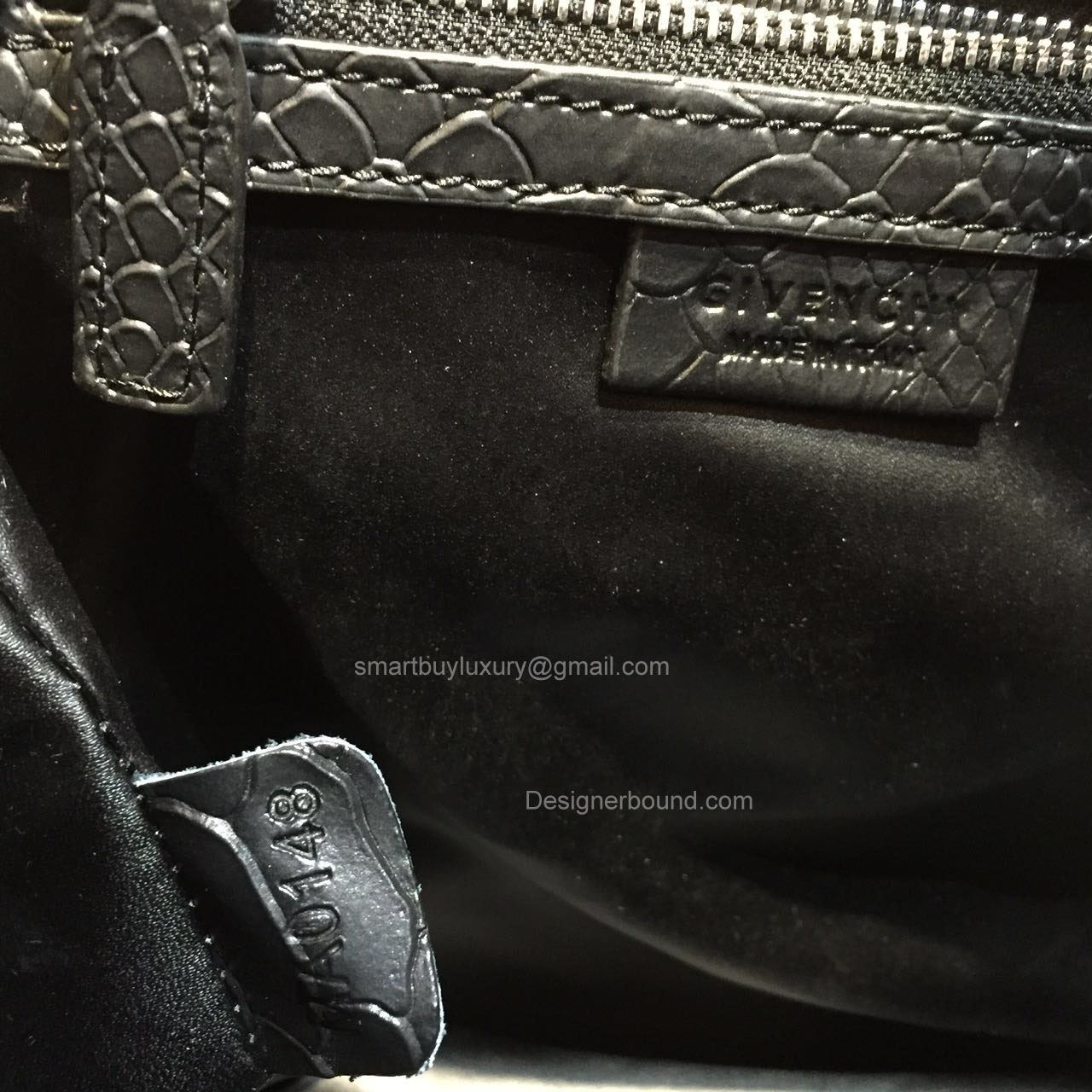 Givenchy Medium Antigona Bag in Black Python and Patent Leather 285173L.  GIVENCHY ... f64e22bdaf38f