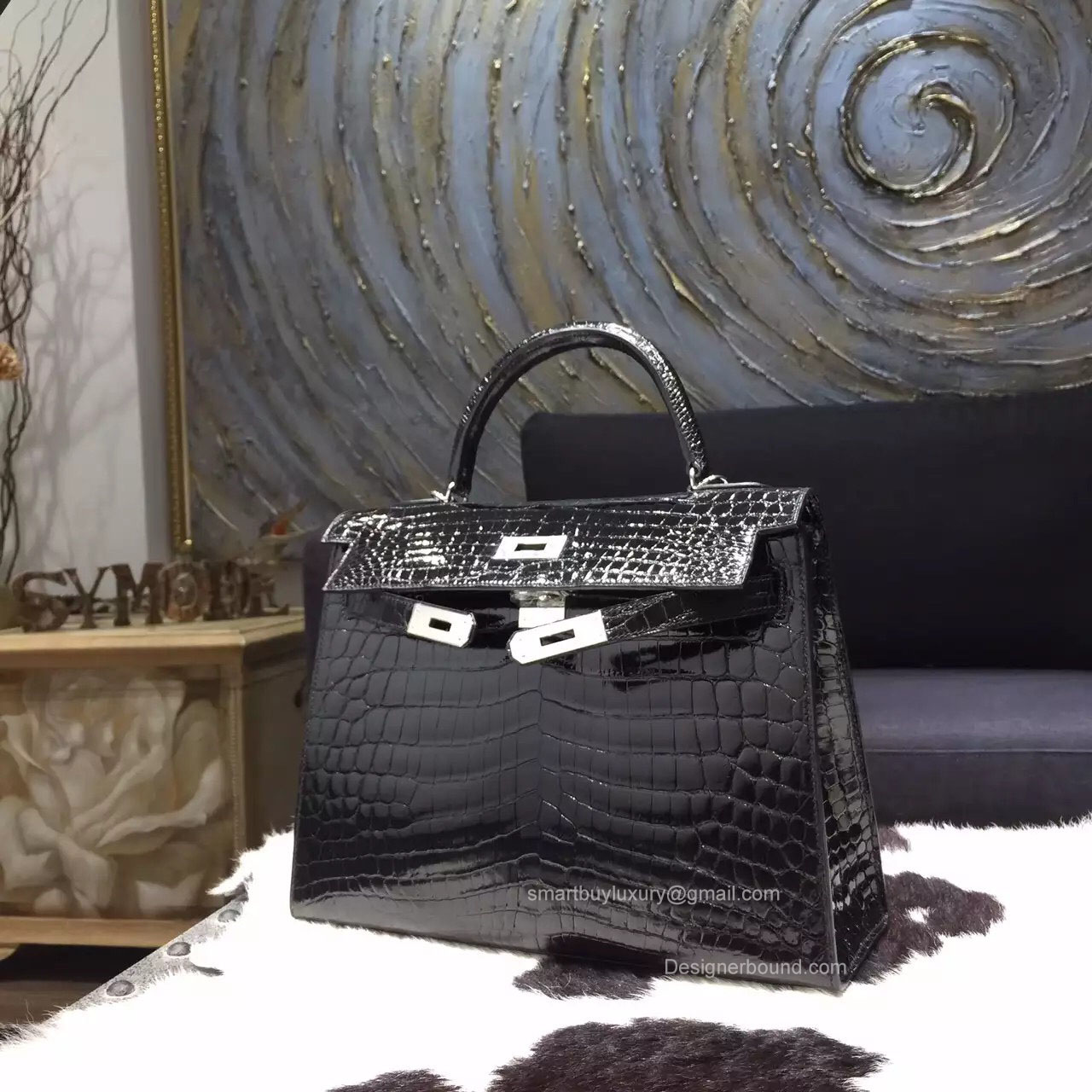 2f607a6a9a5f sale hermèskellyretourne32togonoirpl8 kopie e7b60 57804  coupon for hermes  kelly 32 bag black crocodile leather handstitched silver hw c7321 a479d