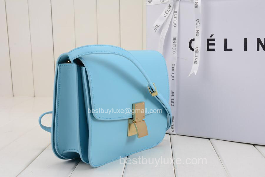 celine box baby blue