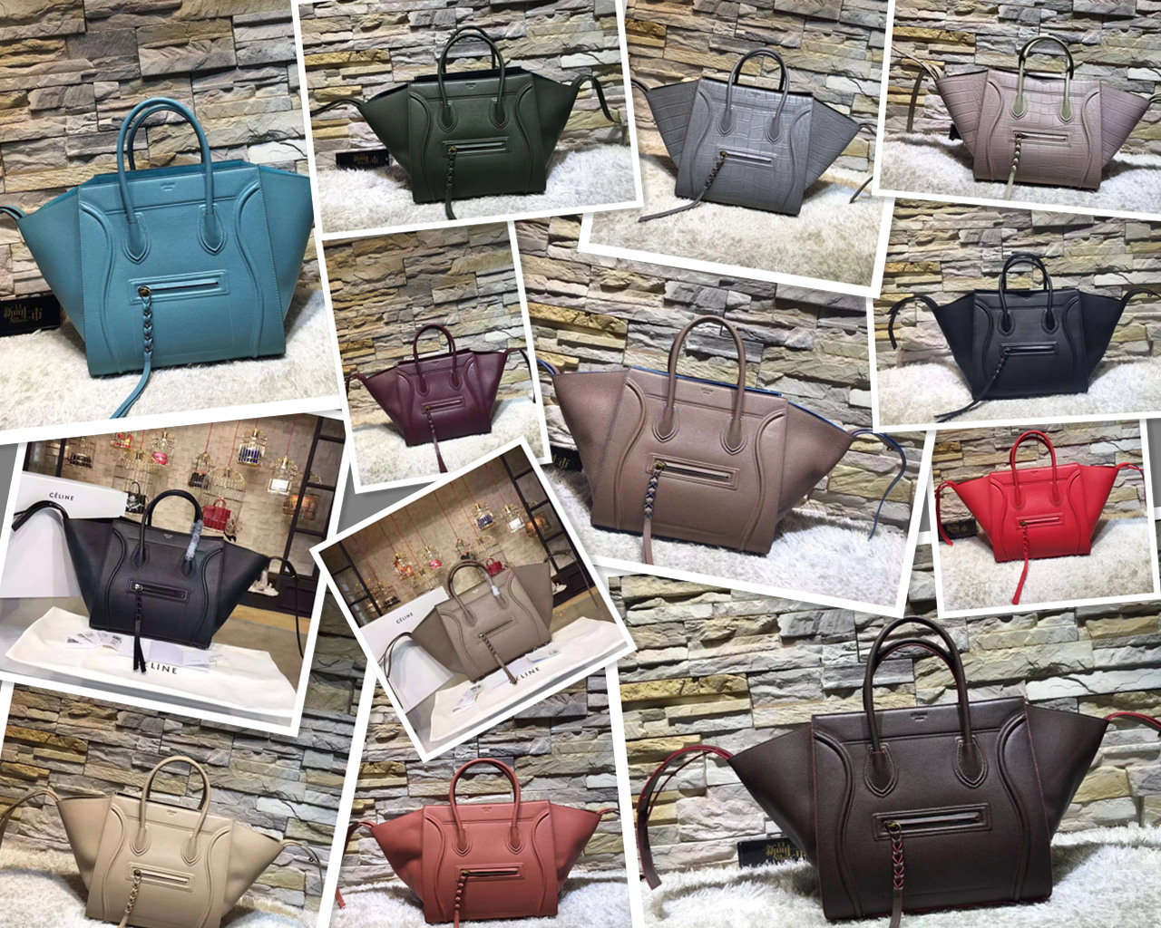 3115594707f2 Home   News   New Listed Celine Mini Belt Bags and Medium Phantom Bags 27