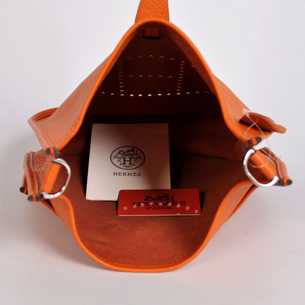 Hermes Evelyne III PM Shoulder Bag Orange - designerbound.com