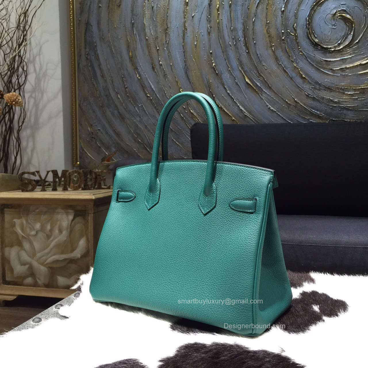 d33dd7814e ... best hermes birkin 35 bag malachite z6 togo leather handstitched gold  hw e73f3 48b4e